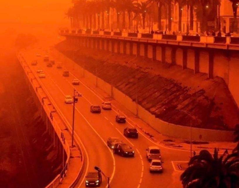 """O sábado em que a França """"ficou laranja""""."""