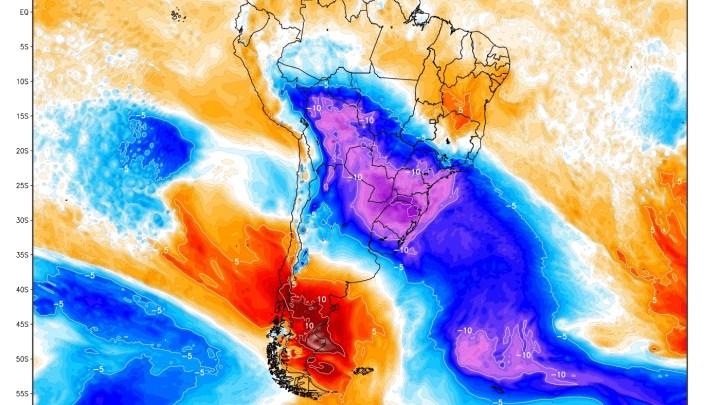 Temperatura no Brasil pode chegar a -25ºC , sendo considerada a mais intensa do século.