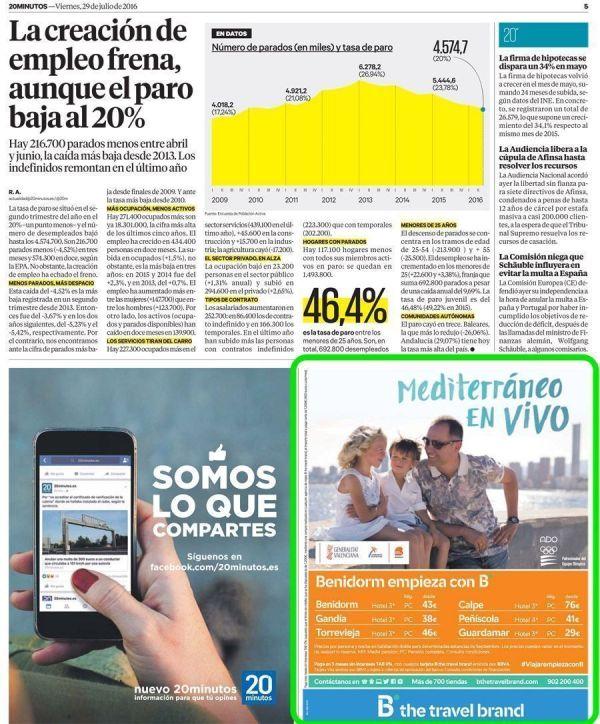 Publicidad vs. nota de prensa - MadridNYC