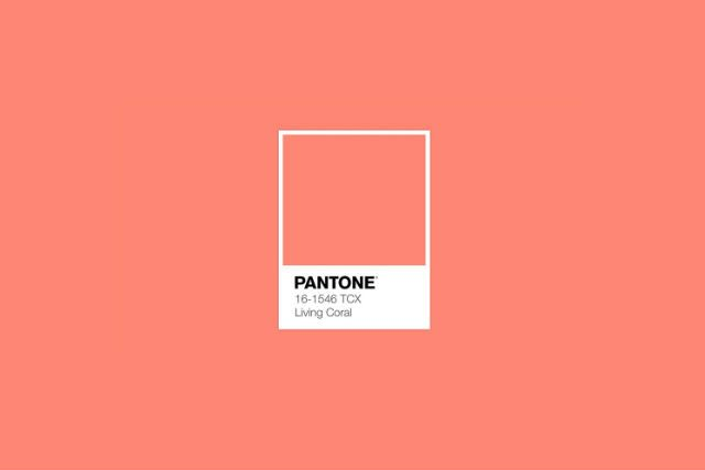 Living coral color pantone 2019