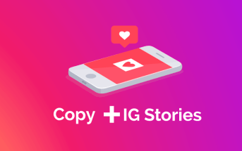 Imagen post copywriting para Instagram Stories
