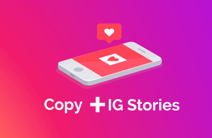 Imagen post copywriting para Instagram Stories