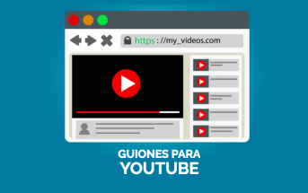 Imagen post guion para videos