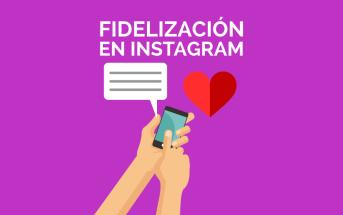 Imagen post fidelización en Instagram
