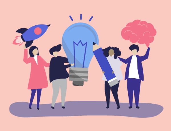 Consejos para lograr ideas creativas en el entorno laboral