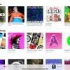 """Captura de pantalla de la aplicación Apple Music, con las listas personalizadas que aparecen en la pestaña """"Para ti"""""""