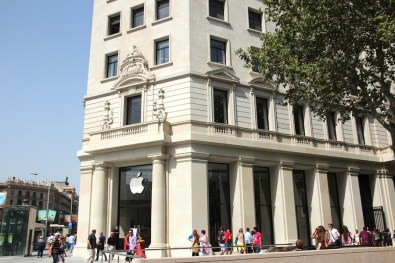 Apple Store Paseo de Gracia 12