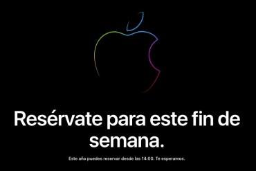 Apple store online cerrada