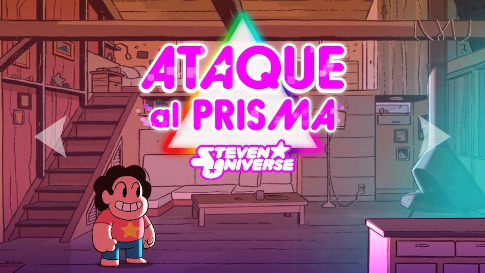 Ataque Al Prisma De Steven Universe Es La App Gratis De La Semana