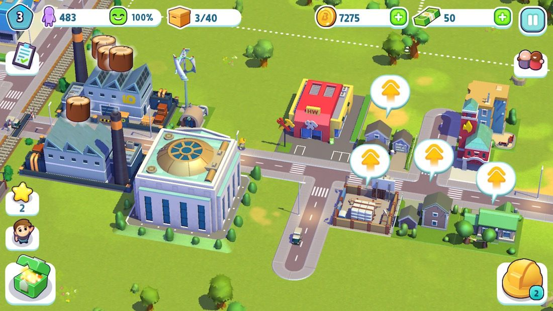 City Mania: Town Building Game App Store