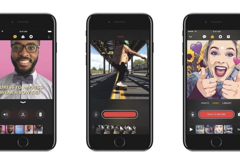 Clips - app de apple para crear vídeos virales