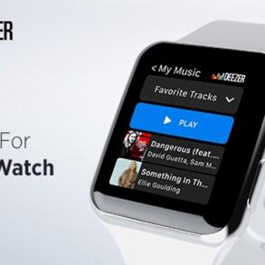 Deezer Apple Watch