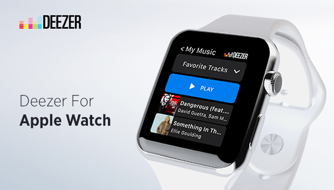 Deezer Apple Watch