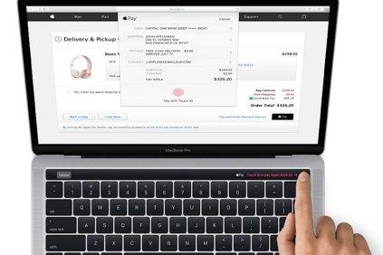 Macbook Pro OLED - keynote Apple