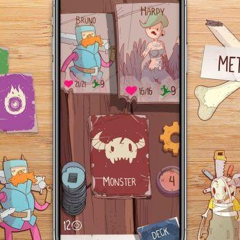 Meteorfall - Juego de cartas y roguelike
