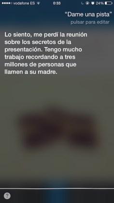 Pista Siri 1