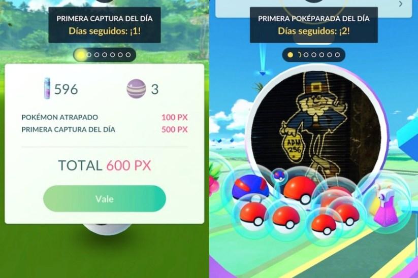 Pokemon GO recompensas