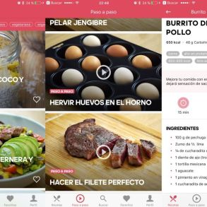 Runtasty - App de recetas sanas para iPhone