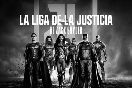 Cartel La Liga de la Justicia de Zack Snyder