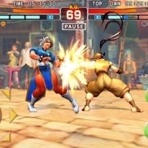 Street Fighter IV Champion Edition iOS