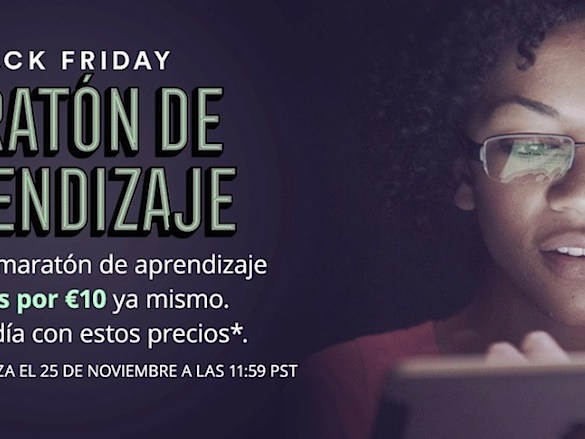 Udemy Black Friday - Cursos online