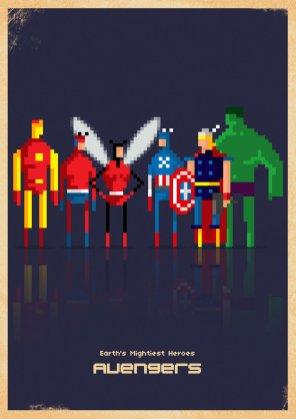 avengers_8_bit_by_capdevil13-d4u2z8p