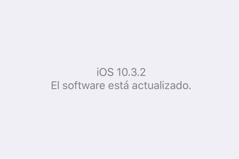 iOS 10.3.2 - Apple