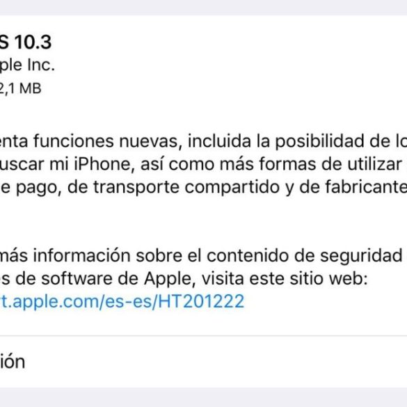 iOS 10.3 para iPhone, iPad y iPod Touch