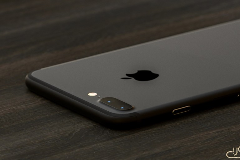 iPhone 7 render dark black