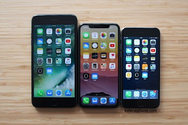iPhone 7 Plus vs iPhone X Vs iPhone 6