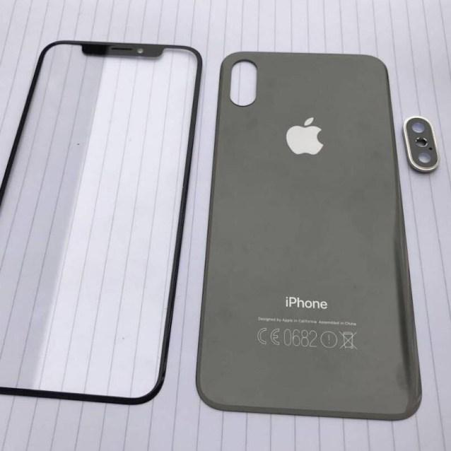 iPhone 8 X paneles
