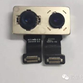 sensor doble cámara iPhone 7