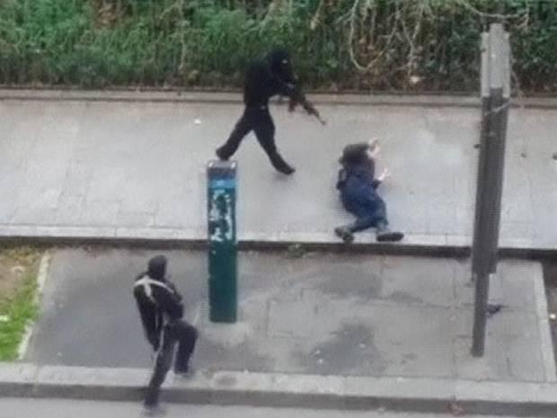 charlie hebdo killers policeman