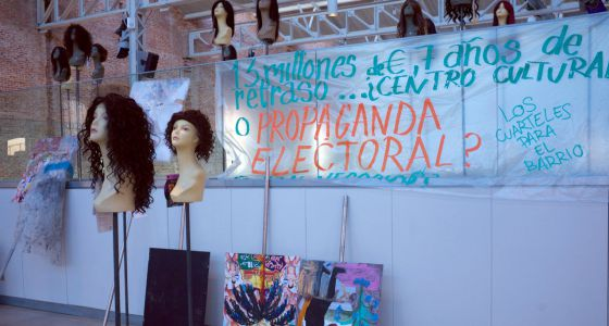 Oscar Murillo, De marcha, ¿una rumba? No, sólo un desfile con ética y estética. Centro Cultural Daoiz y Velarde