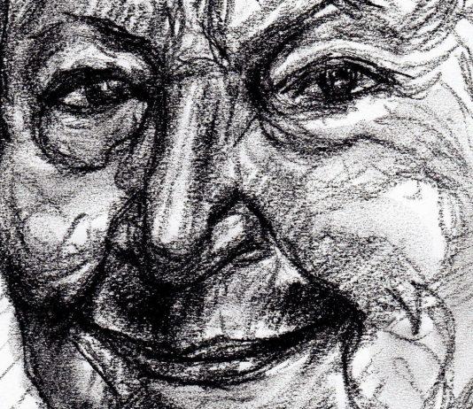 retrato de Gloria Fuertes