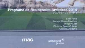 Vídeo Residencias Artísticas 2014