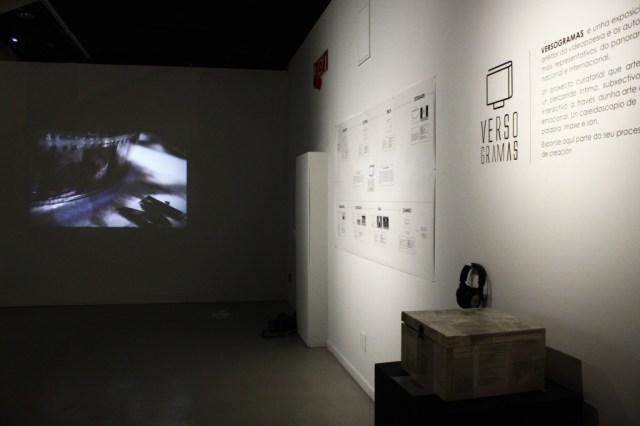 Versogramas proxecto curatorial