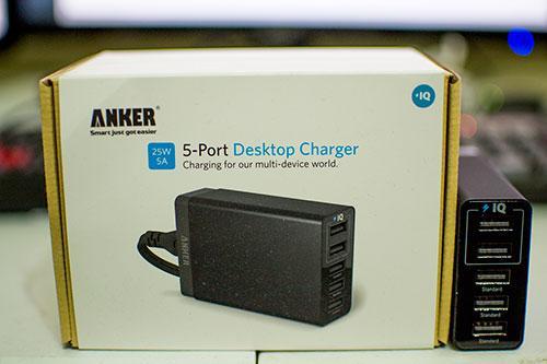 Anker 5-Port Desktop Charger Review