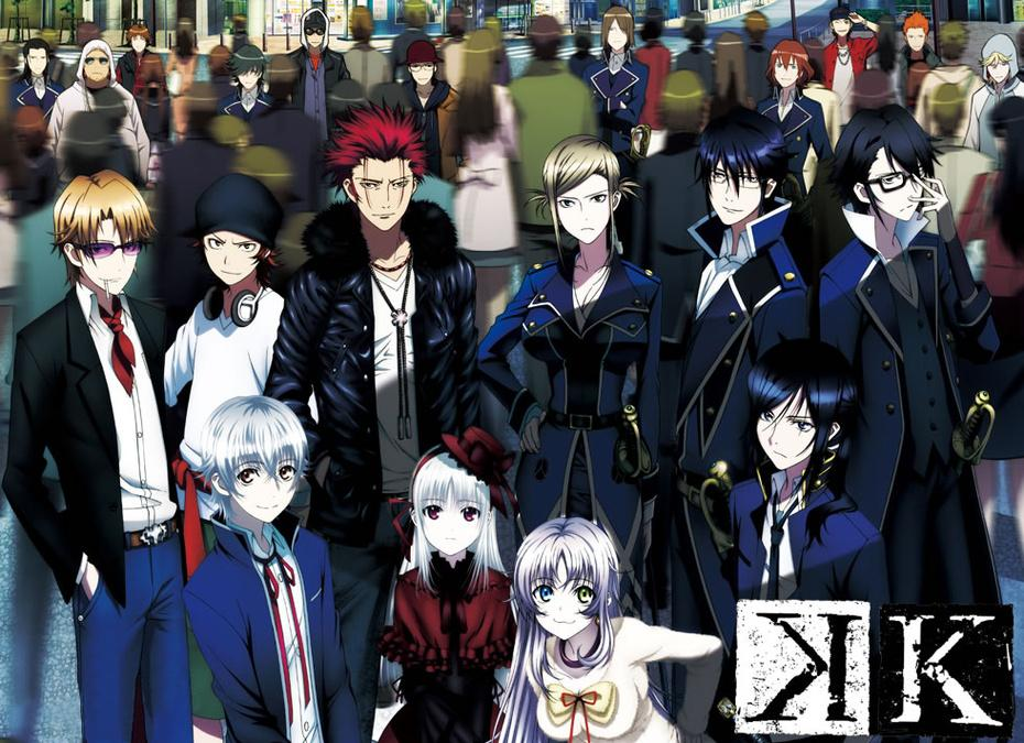 K – First Season Review – Previously In Anime