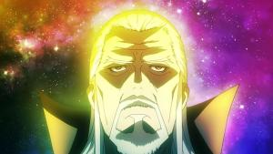 Screenshot of Daikaku Kokujouji in the anime K