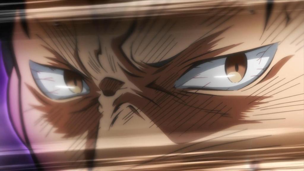 Screenshot of Subaru angry in Re:Zero kara Hajimeru Isekai Seikatsu