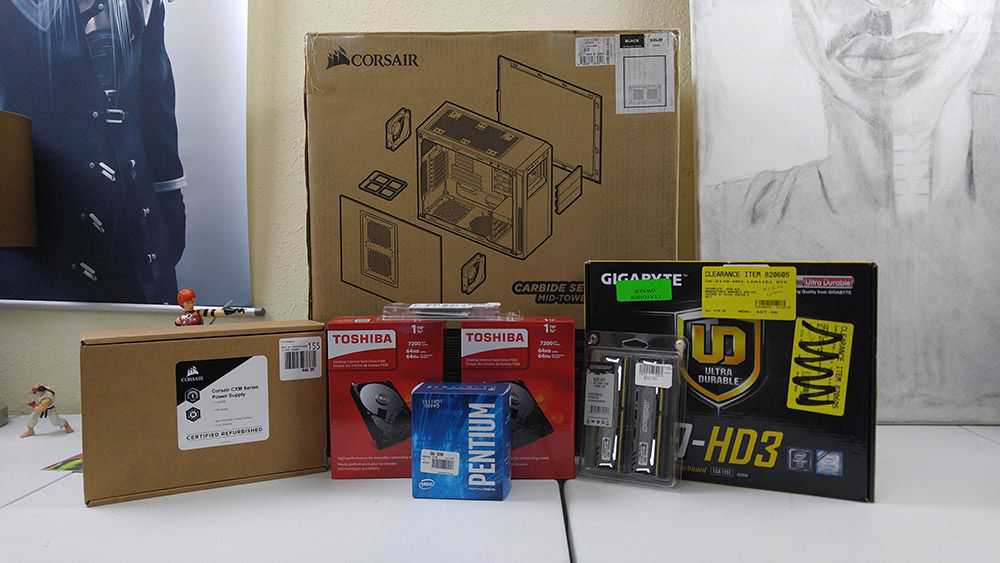 Corsair Carbide 200R Build and Overview