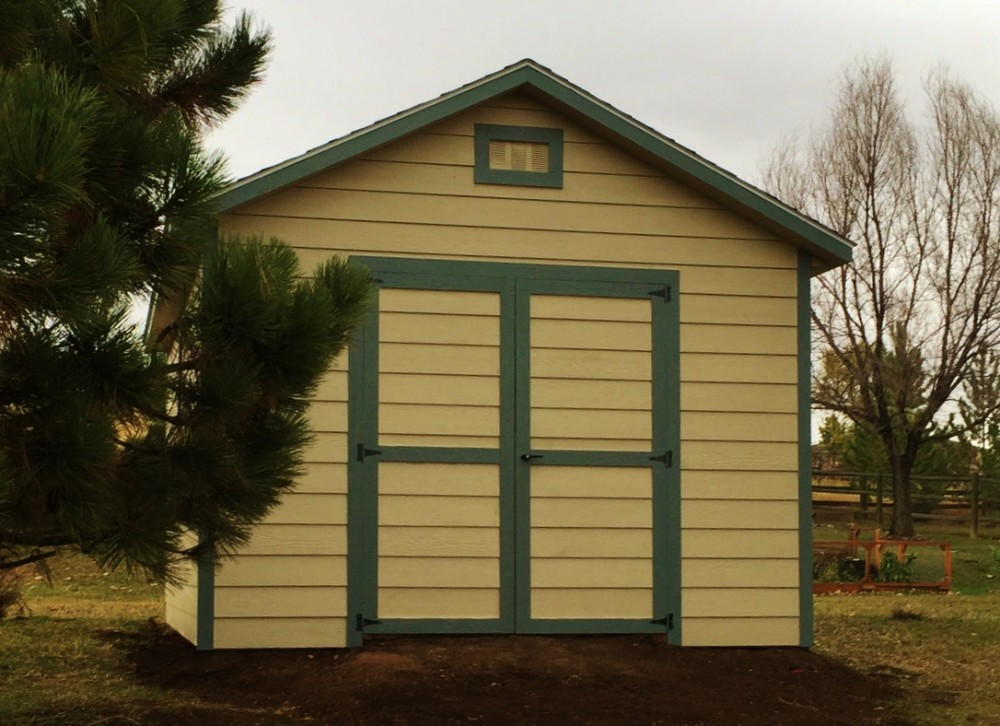 12x16 Cottage Shed With Lap Siding