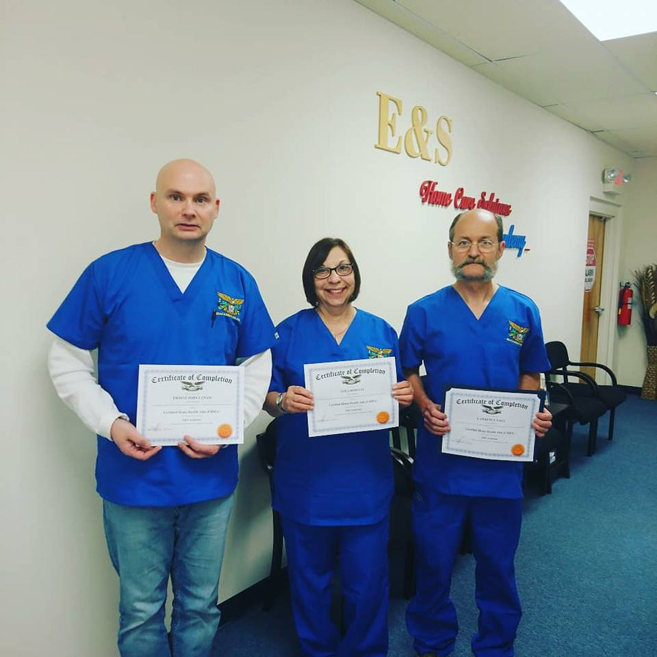 Congratulations to our New Home Health Aides