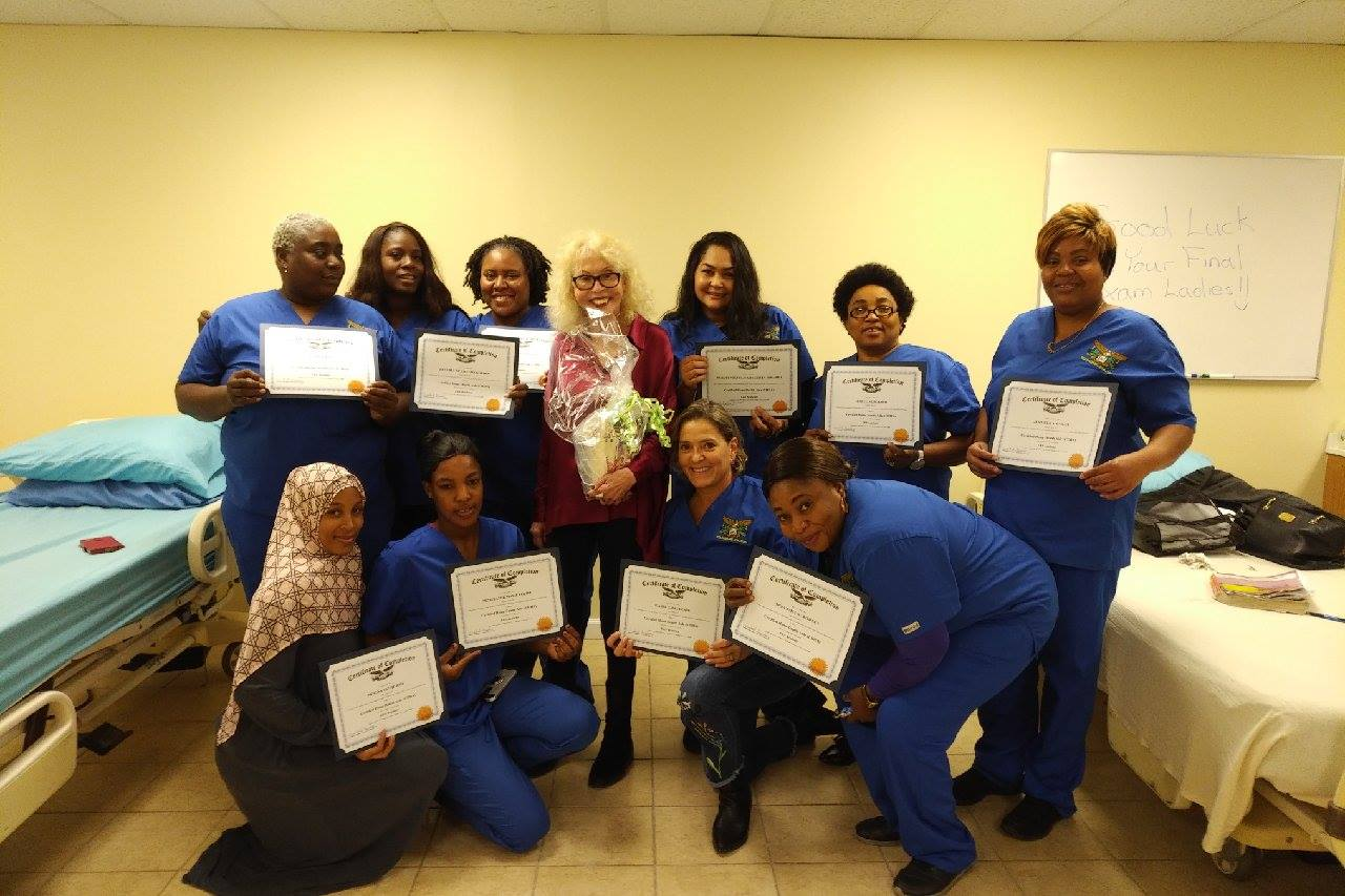 Congratulations to Our Newest Caregivers! They Are Ready to Care For Your Families!