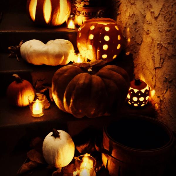 Porch Decor Jack O Lanterns