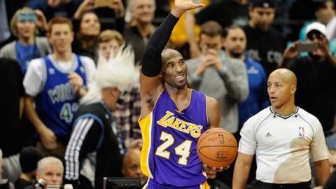 Kobe Bryant Passes Michael Jordan For 3rd On The NBA All Time Scoring List.