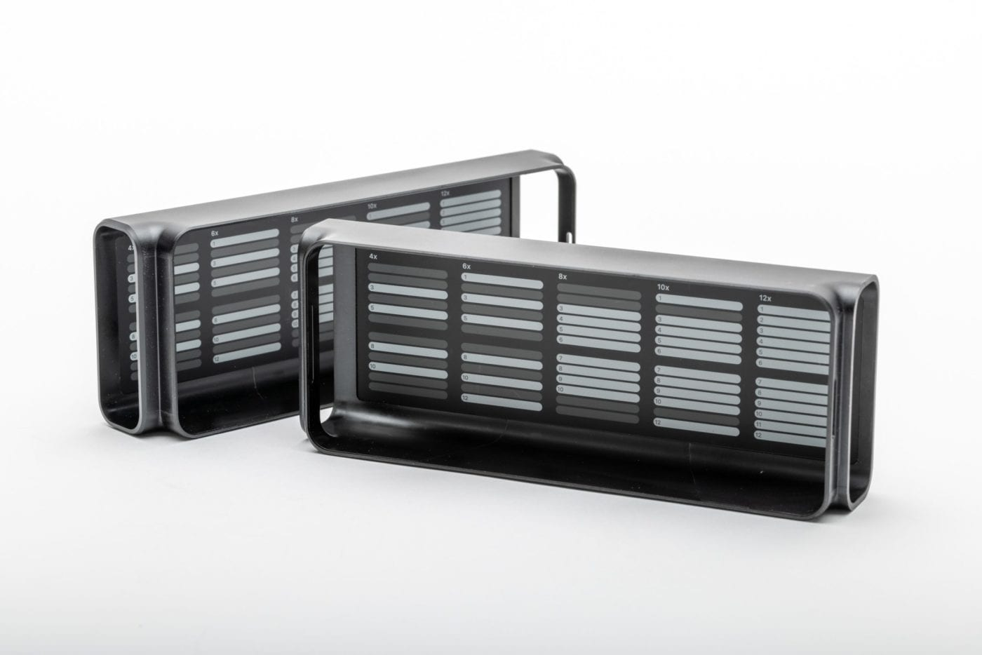 2019 Mac Pro – RAM covers, inside view of diagrams for various quantities of memory chips