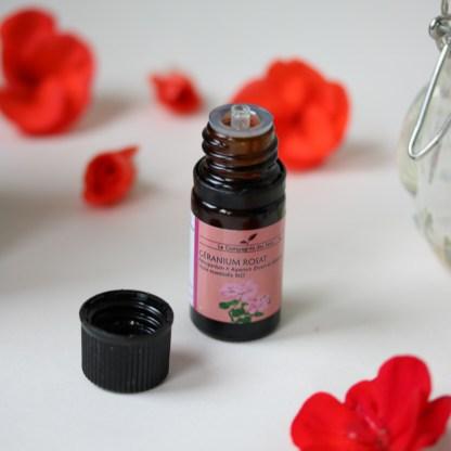 huile essentielle bio de géranium rosat la compagnie des sens pour soigner ses plantes au naturel | Mon petit balcon