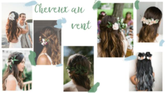 Inspirations coiffures fleuries, coiffures pour mariage ou événement